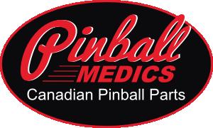 Pinball Medics Logo Oval Canadian Pinbal Parts