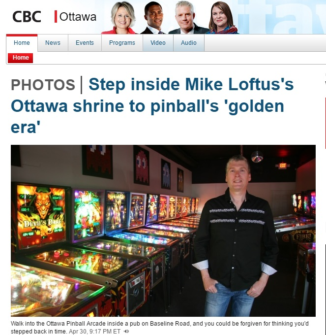 Step into Mike Loftus's shrine to pinball, and you could be forgiven for thinking you'd stepped back in time