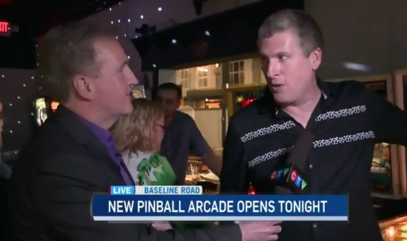 Ottawa Pinball Arcade Grand Opening CTV