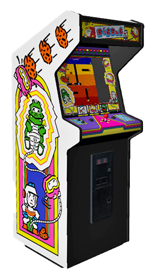 Dig Dug – Atari 1982 | The Ottawa Pinball Arcade